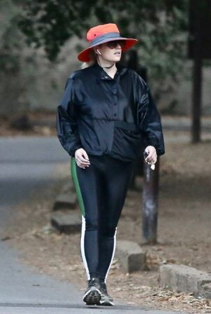 Rebel Wilson - Solo hike in the hills of Los Angeles