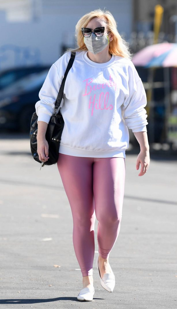 Rebel Wilson - Stepping out in Los Angeles