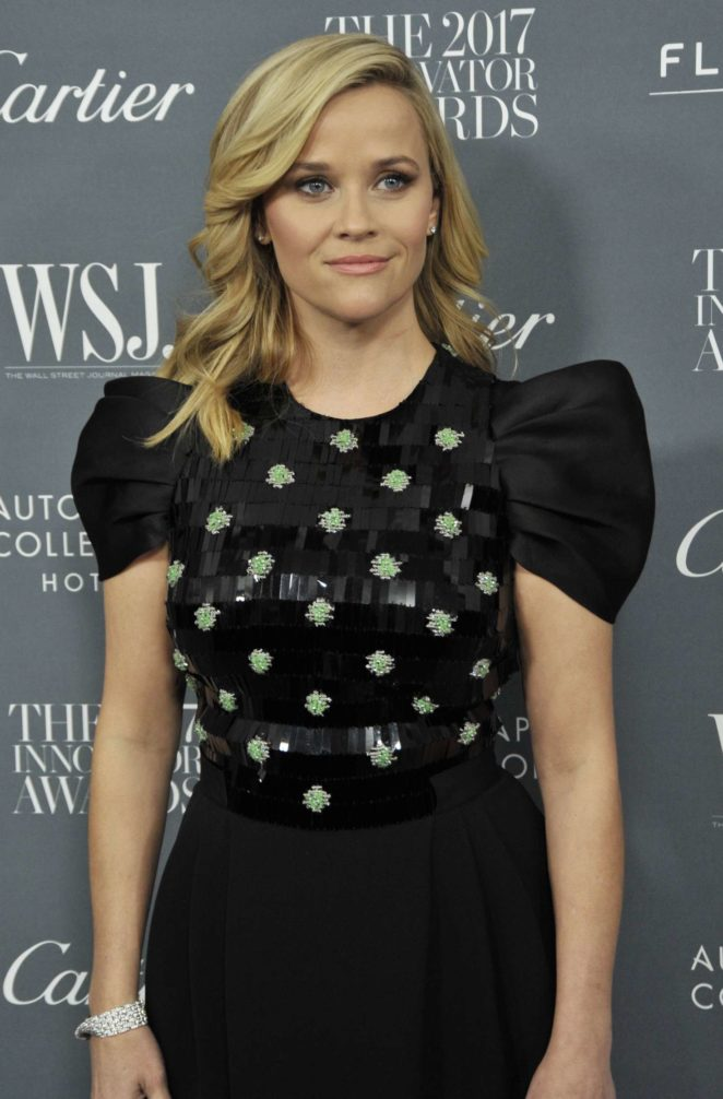 Reese Witherspoon - 2017 WSJ Innovator Awards in NYC