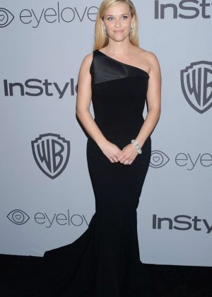 Reese Witherspoon - 2018 InStyle and Warner Bros Golden Globes After Party in LA