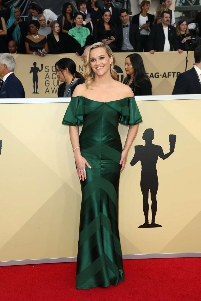 Reese Witherspoon – 2018 Screen Actors Guild Awards in Los Angeles
