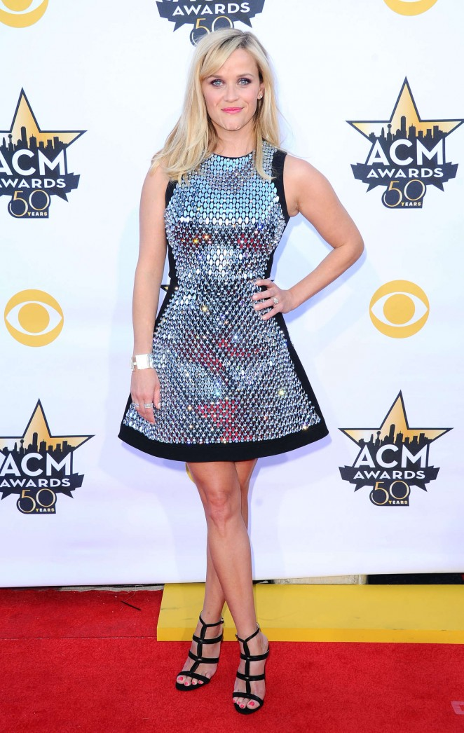 Reese Witherspoon - 2015 Academy Of Country Music Awards in Arlington
