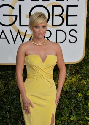 Reese Witherspoon - 74th Annual Golden Globe Awards in Beverly Hills