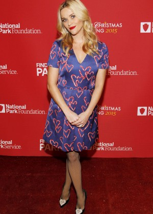 Reese Witherspoon - 93rd Annual National Christmas Tree Lighting in Washington