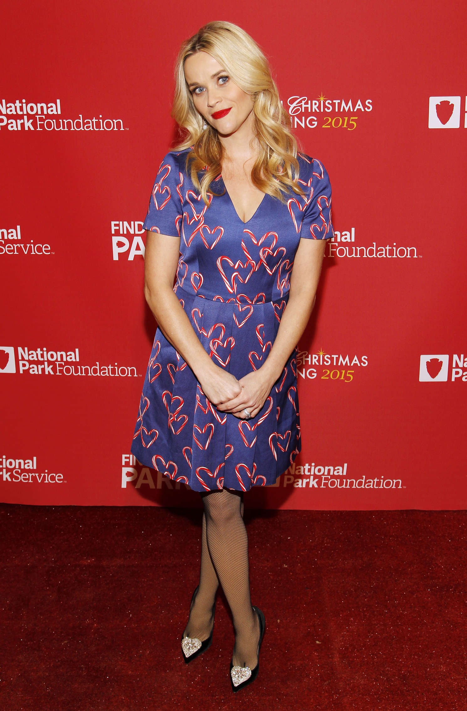 Reese Witherspoon 93rd Annual National Christmas Tree