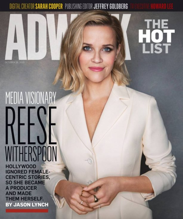 Reese Witherspoon - Adweek Magazine (October 2020)