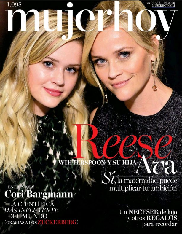 Reese Witherspoon and Ava Elizabeth Phillippe - Mujer Hoy Magazine (April 2020)