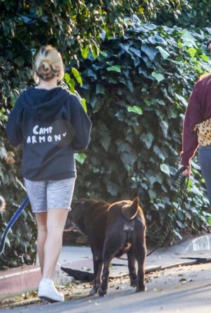 Reese Witherspoon and Ava Elizabeth Phillippe - Walk their dogs in Brentwood