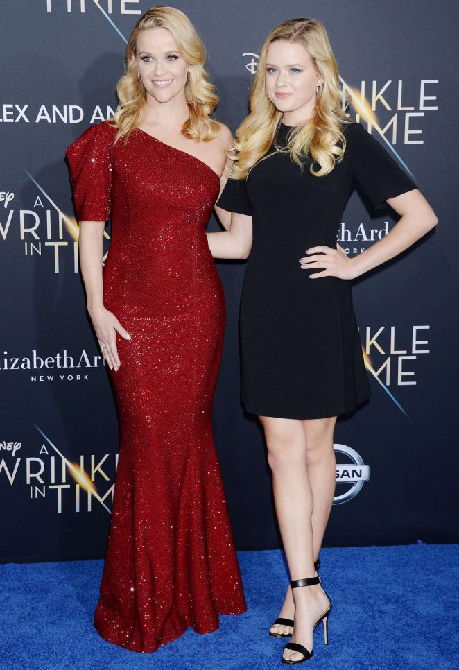 Reese Witherspoon and Ava Phillippe – 'A Wrinkle in Time' Premiere in Los Angeles