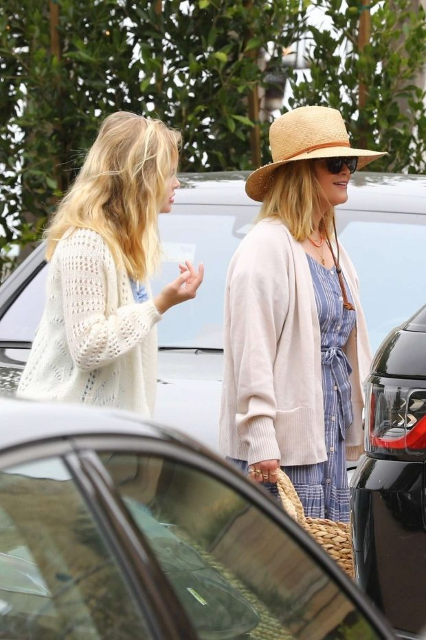 Reese Witherspoon and Ava Phillippe at Soho House-02