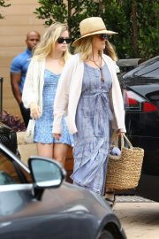 Reese Witherspoon and Ava Phillippe at Soho House in Malibu