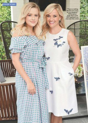 Reese Witherspoon and Ava  Phillippe - Us Weekly Magazine (July 2018)