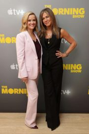 Reese Witherspoon and Jennifer Aniston - Apple's press day for 'The Morning Show' in Los Angeles