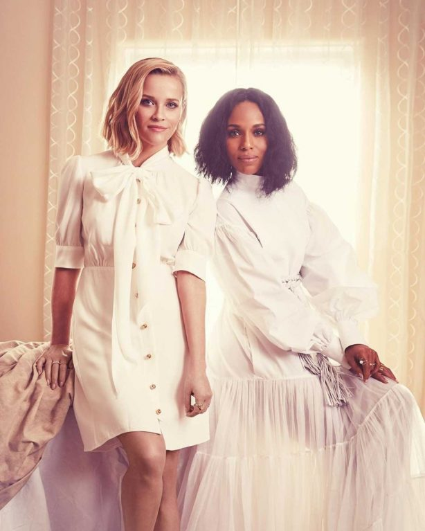 Reese Witherspoon and Kerry Washington - Emmy Magazine 2020