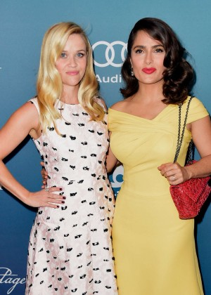 Reese Witherspoon and Salma Hayek - Variety's Power Of Women Luncheon in Beverly Hills