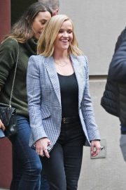 Reese Witherspoon - Arriveas at The Morning Show in New York