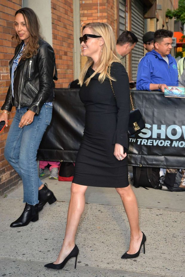 Reese Witherspoon - Arrives at 'The Daily Show' TV Show in New York