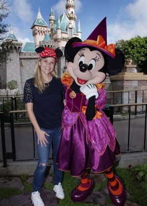 Reese Witherspoon at Disneyland in Anaheim
