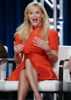 Reese Witherspoon - 'Big Little Lies' Panel at 2017 TCA Winter Tour in Pasadena