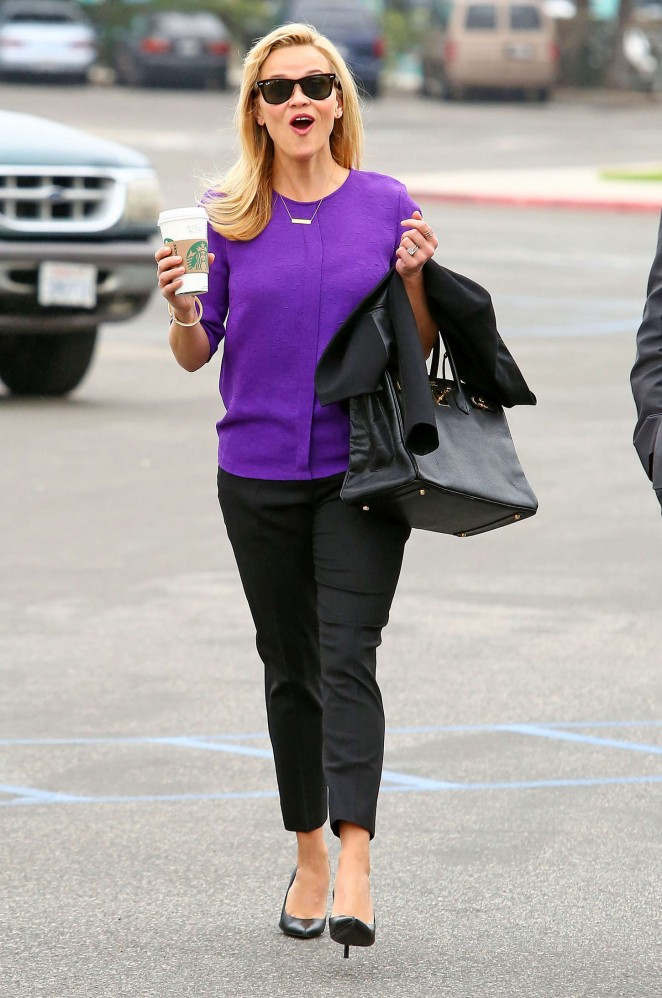 Reese Witherspoon - Courthouse in Santa Monica