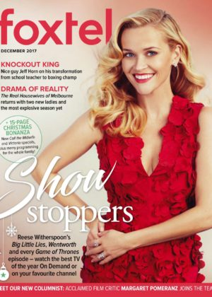 Reese Witherspoon - Foxtel Magazine (December 2017)