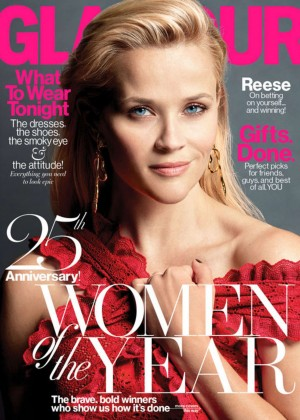Reese Witherspoon - Glamour Magazine (December 2015)