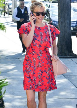 Reese Witherspoon Goes to Kinara Spa in West Hollywood