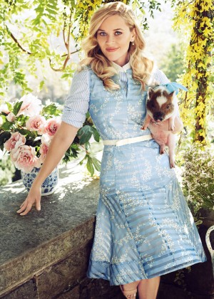Reese Witherspoon - Harper's Bazaar Magazine (January 2016)
