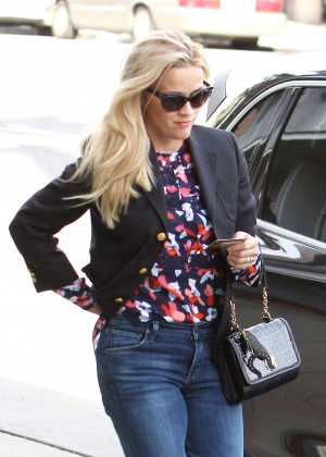 Reese Witherspoon - Heads a medical building in Santa Monica