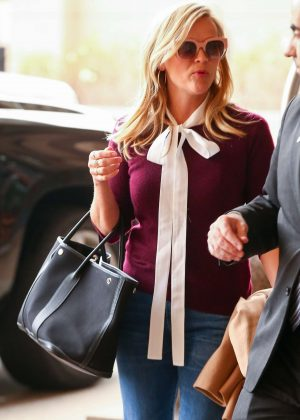Reese Witherspoon - Heads to a meeting in Century City