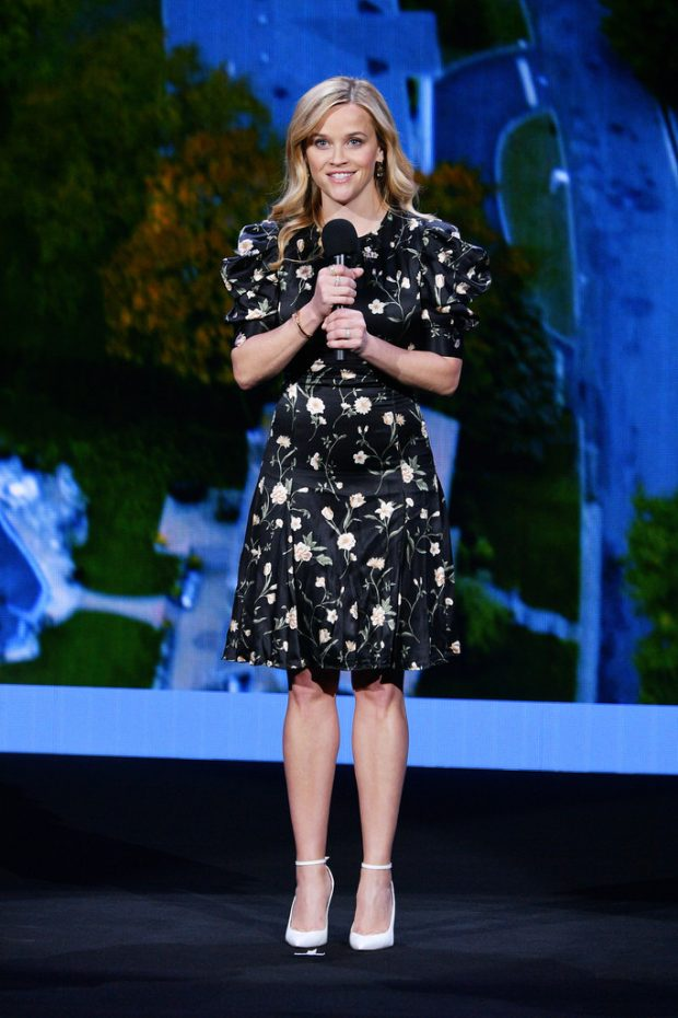 Reese Witherspoon: Hulu 2019 Upfront Presentation -15