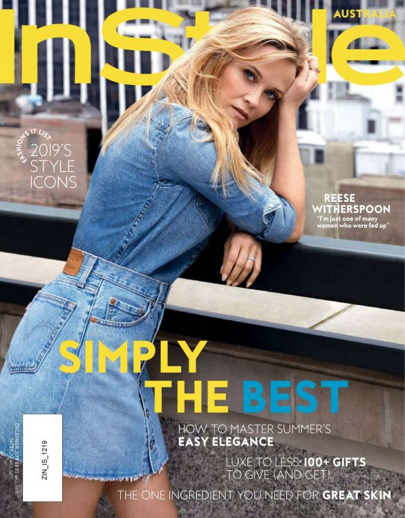 Reese Witherspoon - InStyle Australia Magazine (December 2019)