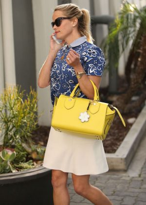 Reese Witherspoon - Leaves her office in Beverly Hills