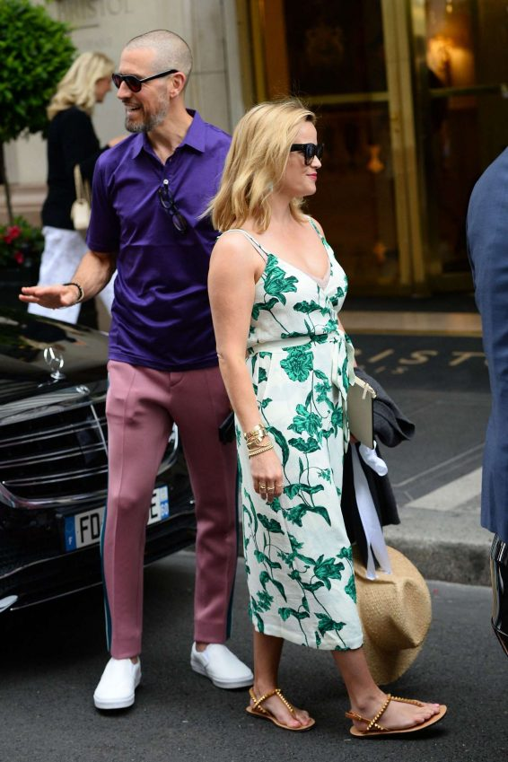 Reese Witherspoon – Leaving Bristol Hotel in Paris-03