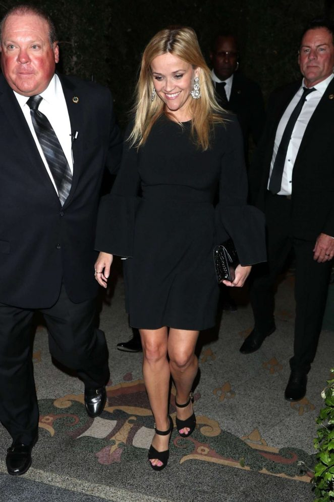 Reese Witherspoon - Leaving Gwyneth Paltrow Black Tie Event in LA