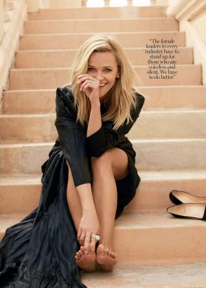Reese Witherspoon - Marie Claire Australia (April 2018)