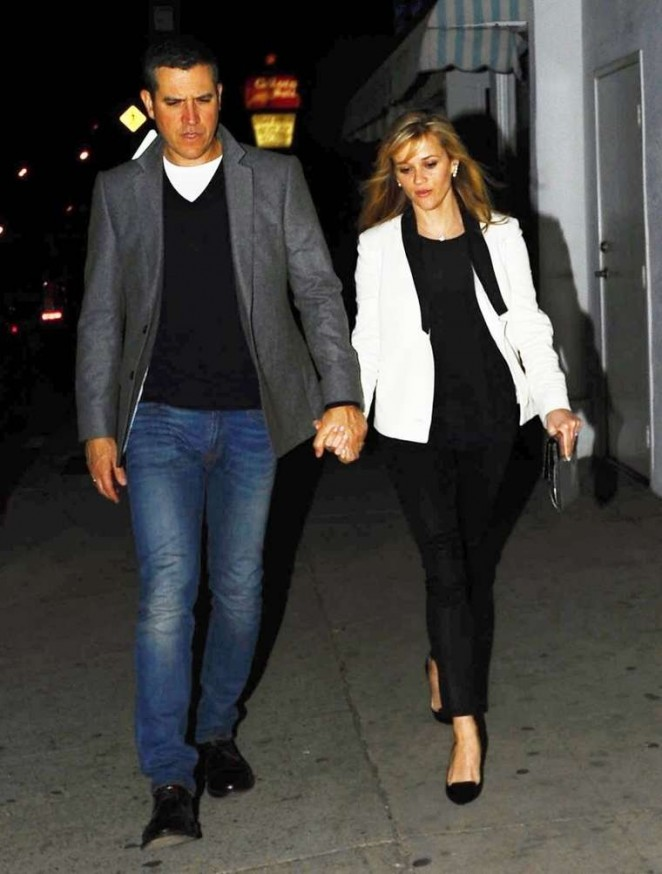 Reese Witherspoon Night Out in LA