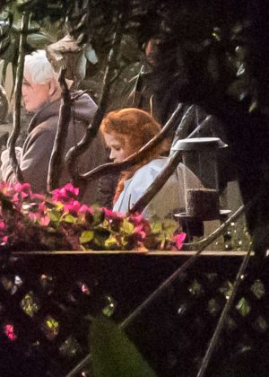 Reese Witherspoon on set of 'A Wrinkle in Time' in Los Angeles