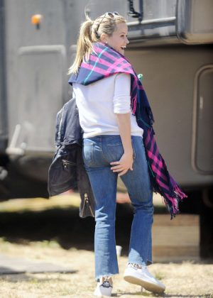 Reese Witherspoon on set of 'Big Little Lies' in Monterey