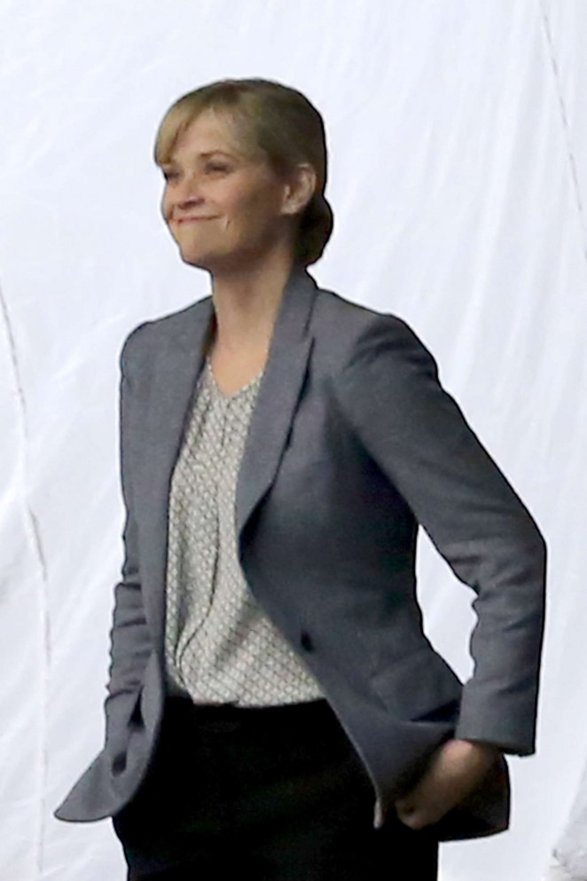 """Reese Witherspoon on the set of """"Don't Mess with Texas"""" in New Orleans"""