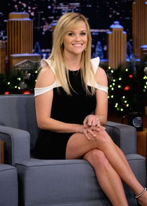 Reese Witherspoon on 'The Tonight Show Starring Jimmy Fallon' in NY