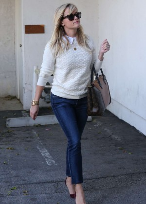Reese Witherspoon in Jeans Out in California