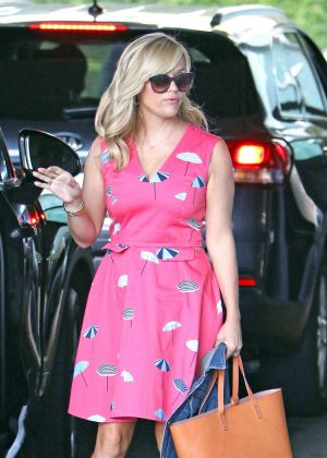 Reese Witherspoon out in LA