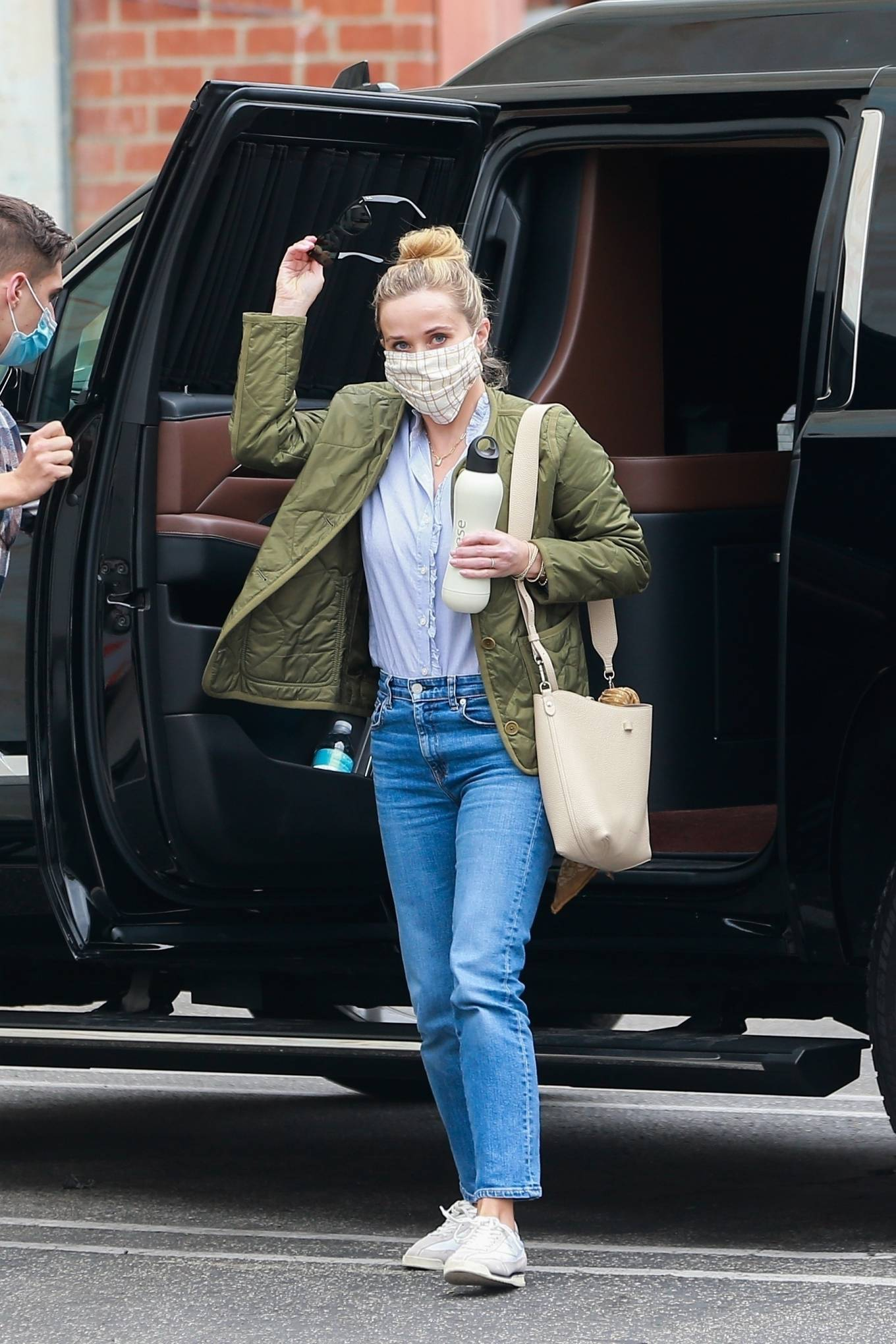Reese Witherspoon - outside a studio in Hollywood