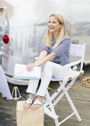 Reese Witherspoon - Photoshoot for Draper James Summer 2018 Collection
