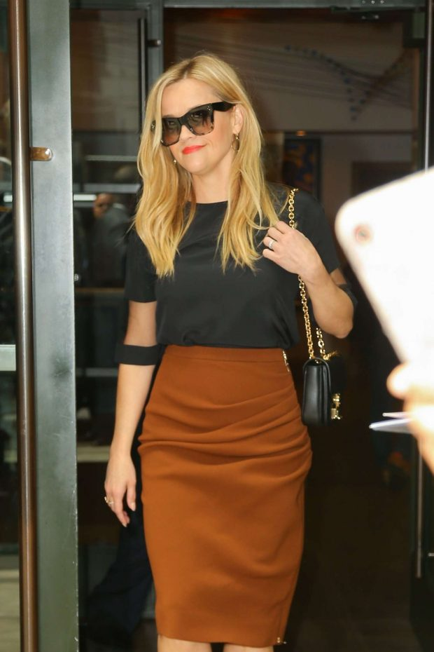 Reese Witherspoon - Promoting the 'Big Little Lies' in NYC