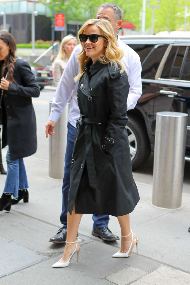 Reese Witherspoon seen while attending at the Hulu Upfronts in NYC
