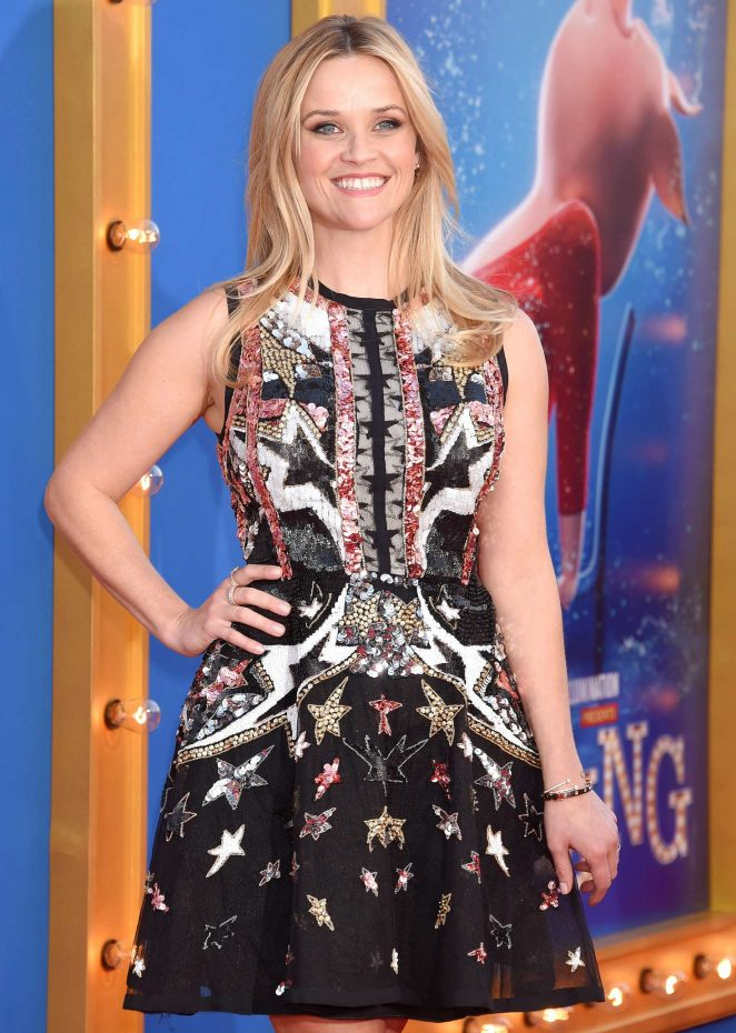 Reese Witherspoon - 'Sing' Premiere in Los Angeles