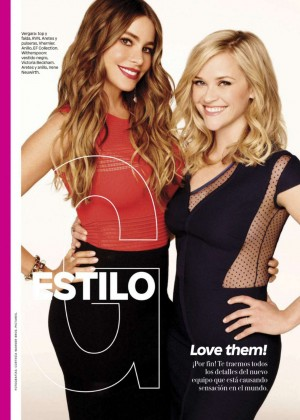 Reese Witherspoon & Sofía Vergara - Glamour Magazine (June 2015)