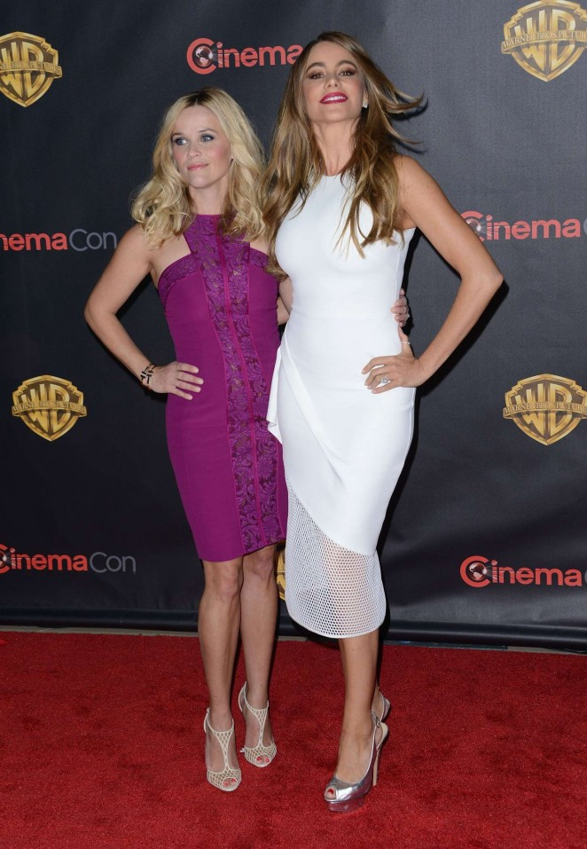 Reese Witherspoon and Sofia Vergara: WB 2015 Cinemacon Press Line -01